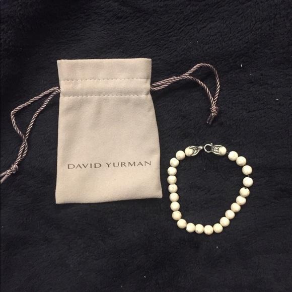 David Yurman 8mm riverstone spiritual bed bracelet